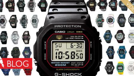 Krátka história plná prvenstiev. Takto šiel čas shodinkami Casio G-Shock