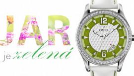 d0262df9d Keď jar, tak v zelenom. Buď EKO a štýlová so zelenými hodinkami