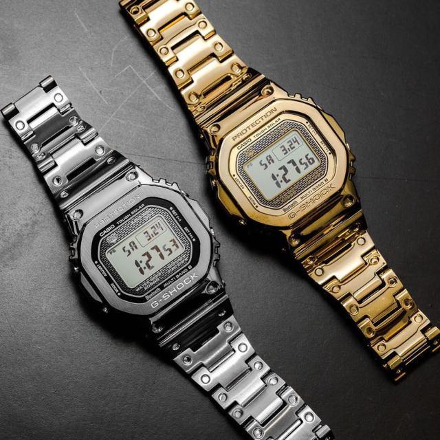 329e83d506 Casio G-Shock GMW B5000 Full Metal – v žiarivej zbroji ďalej zájdeš ...