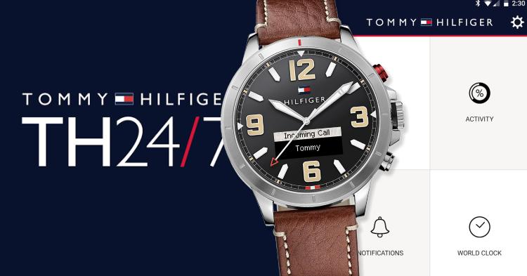 30460dca7 Bude rok 2017 rokom smart hodiniek? Prvé smarty od Tommyho Hilfigera čo-to  naznačujú
