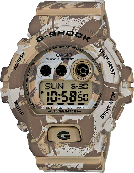 CASIO G-SHOCK CAMOUFLAGE GD X6900MC-5