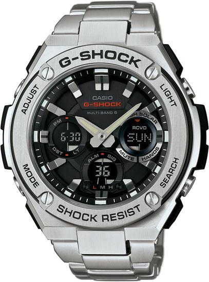 CASIO G-SHOCK G-STEEL GST W110D-1A