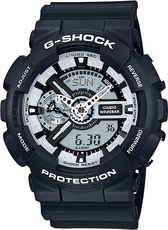 CASIO G-SHOCK GA 110BW-1A