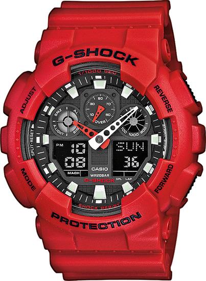 CASIO G-SHOCK G-CLASSIC GA 100B-4A
