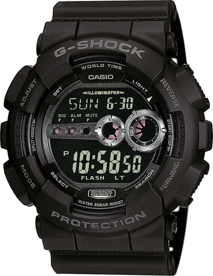 CASIO G-SHOCK GD 100-1B. Predĺžená záruka. VIP servis. 12 mesiacov na vrátenie