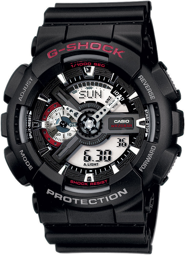 CASIO G-SHOCK GA 110-1A. Predĺžená záruka. VIP servis. 12 mesiacov na vrátenie