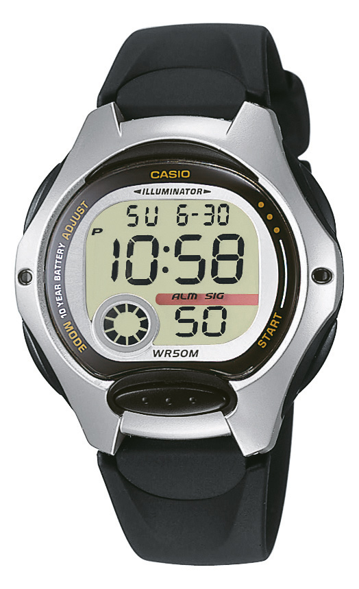 CASIO COLLECTION LW 200-1A
