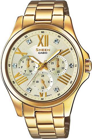 CASIO SHEEN SHE 3806GD-9A