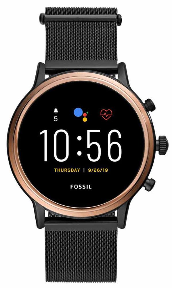 FOSSIL Gen 5 Smartwatch Julianna HR Smoke Stainless Steel FTW6036