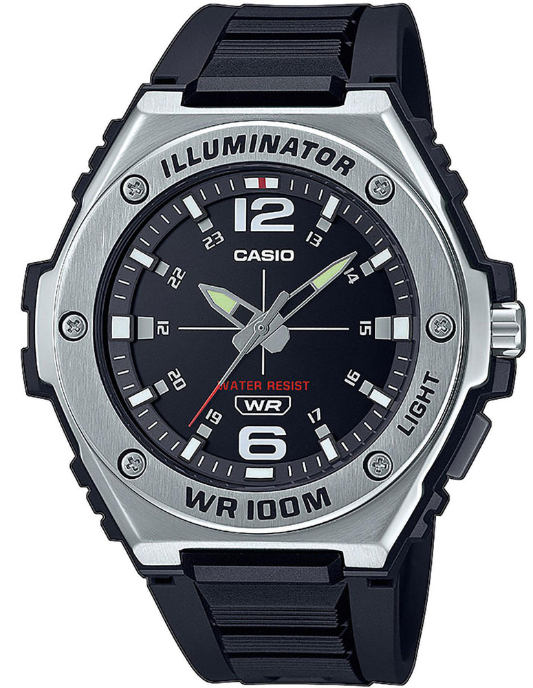 CASIO MWA-100H-1AVEF. 12 mesiacov na vrátenie