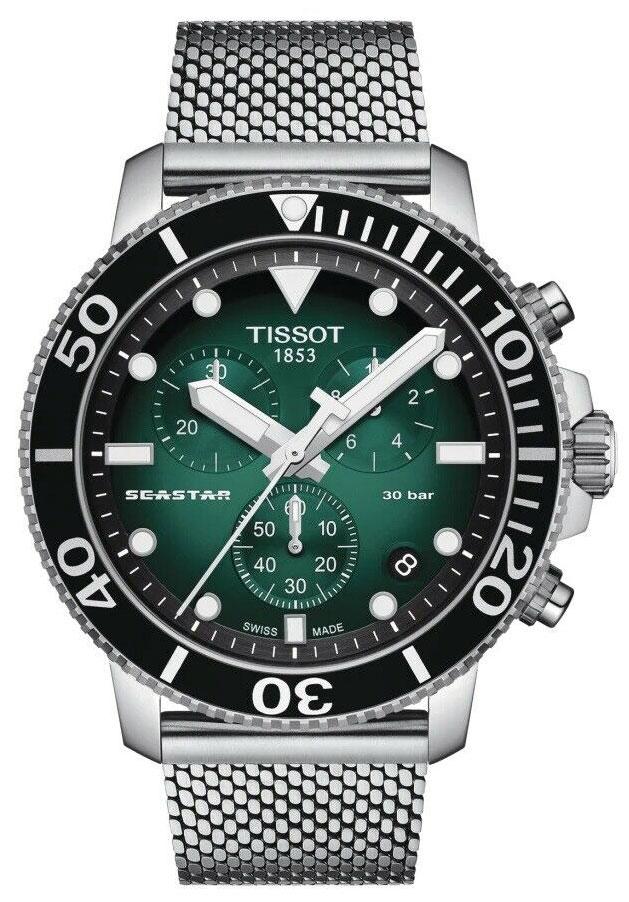 Švicarski ručni sat Tissot Seastar 1000 Chronograph T120.417.11.091.00