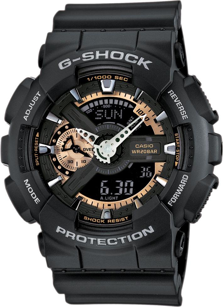CASIO G-SHOCK GA 110RG-1A. Predĺžená záruka. VIP servis. 12 mesiacov na vrátenie