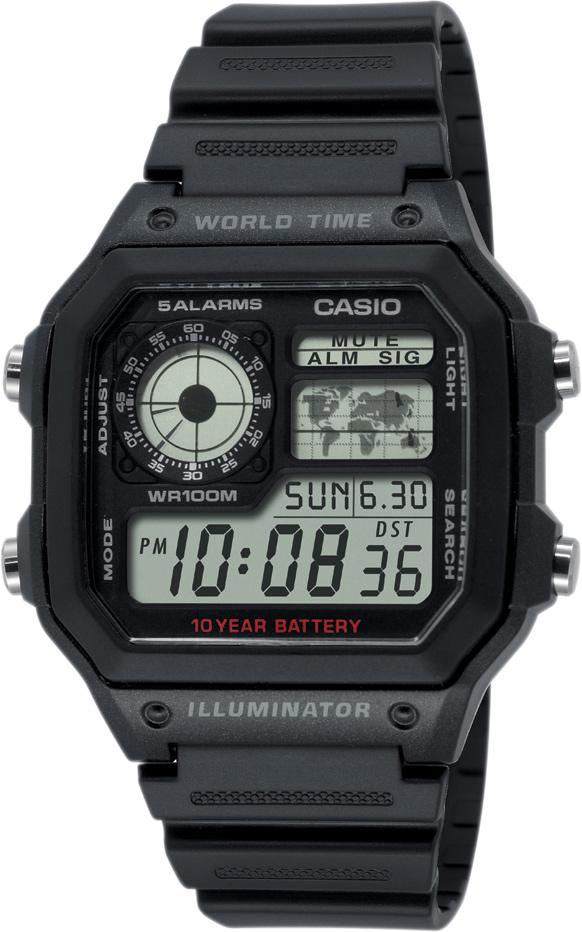 CASIO AE 1200WH-1A. 12 mesiacov na vrátenie