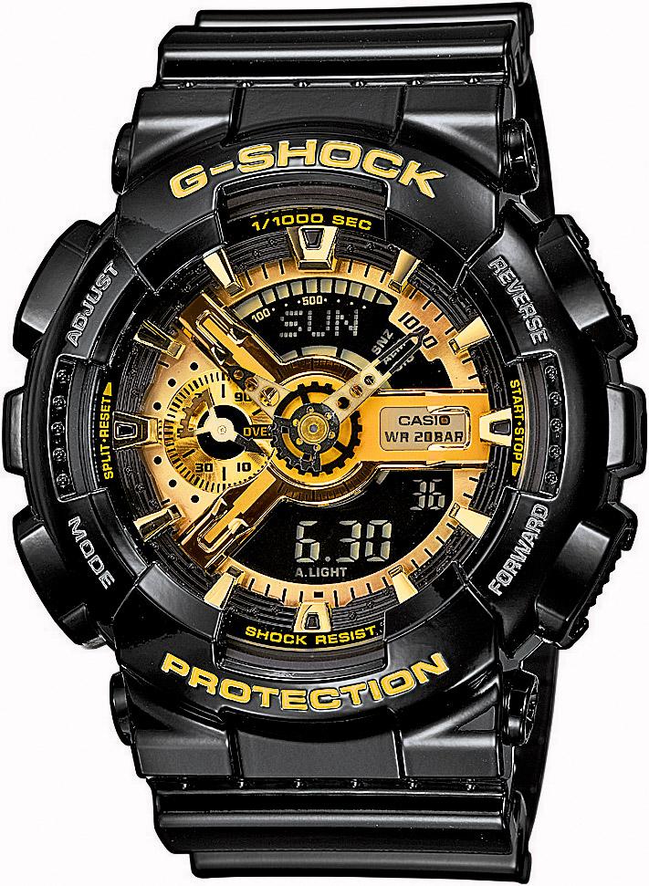 CASIO G-SHOCK GA 110GB-1A. Predĺžená záruka. VIP servis. 12 mesiacov na vrátenie