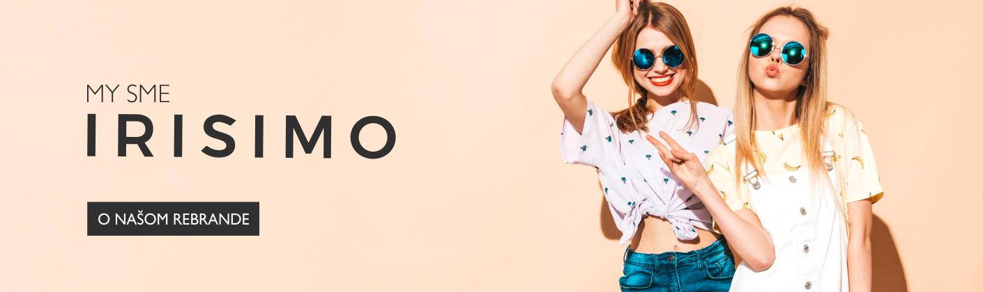 Rebranding - Vítame ťa, IRISIMO