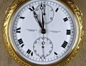 Kapesní hodinky Vacheron Constantin s křišťálovým sklíčkem