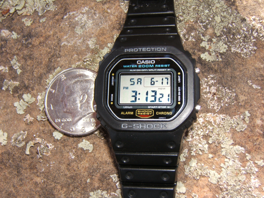 Rok 1987, Casio G-Shock DW-5600C