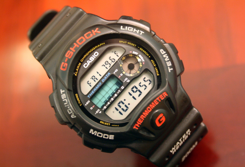 Rok 1992, Casio G-Shock DW-6100