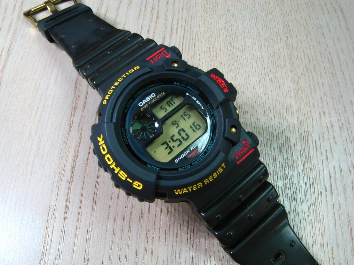 Leto 1993, Casio G-Shock DW-6300-1A Frogman