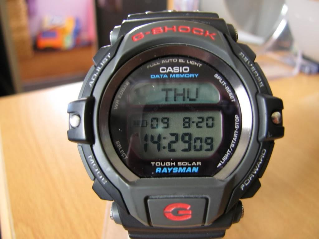 Rok 1998, Casio G-Shock DW-9300 Raysman
