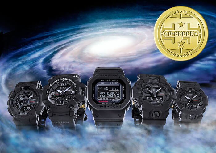Kolekcija Big Bang Black 35th Anniversary Edition