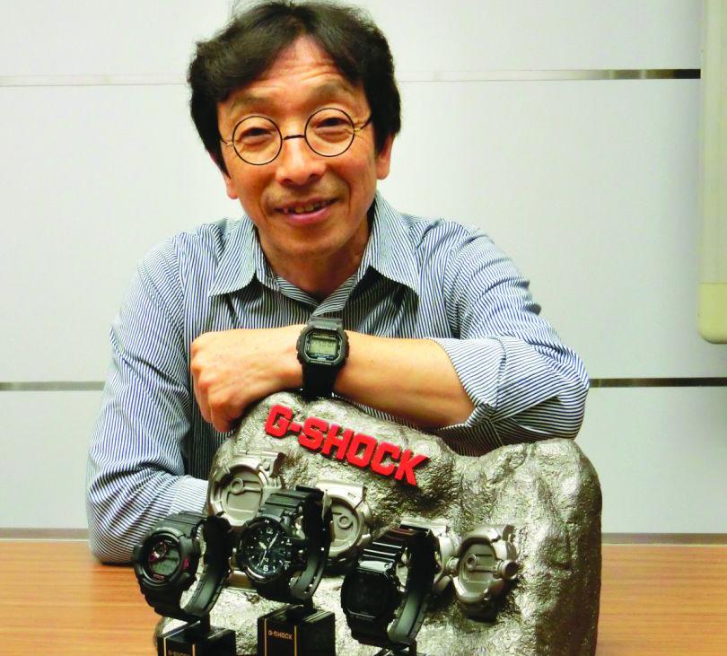 Vynálezce hodinek G-Shock inženýr Kikuo Ibe