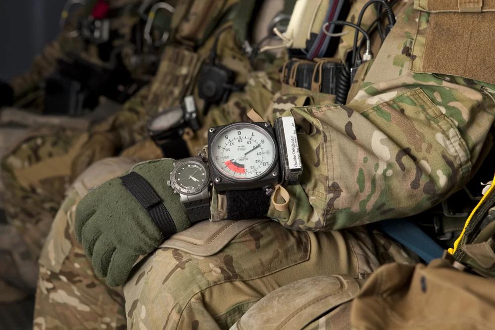 Military hodinky mohou zachránit život